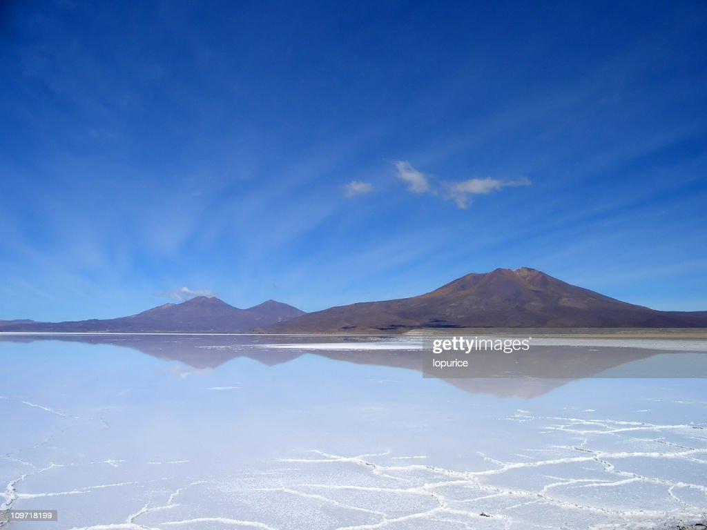 Reflection on Mountains : Stock Photo