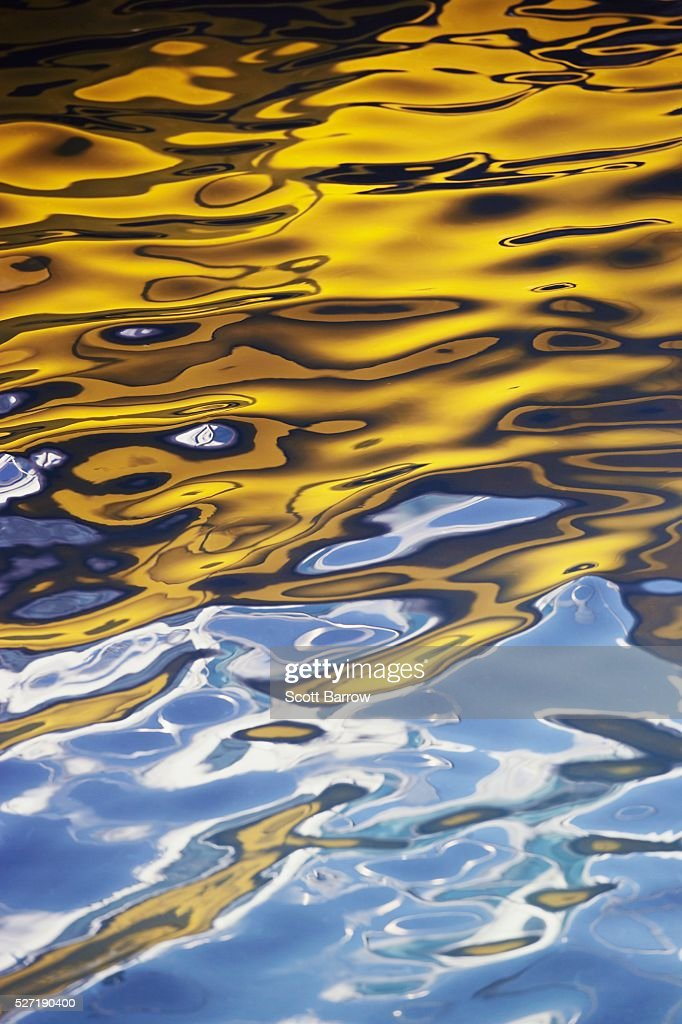 Reflection on water : Stock Photo