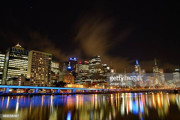Reflection on Yarra River