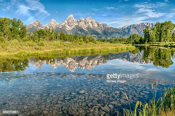 Reflections at Schwabacher Landing