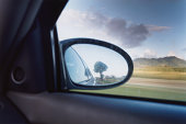 Reflections in Rearview Mirror
