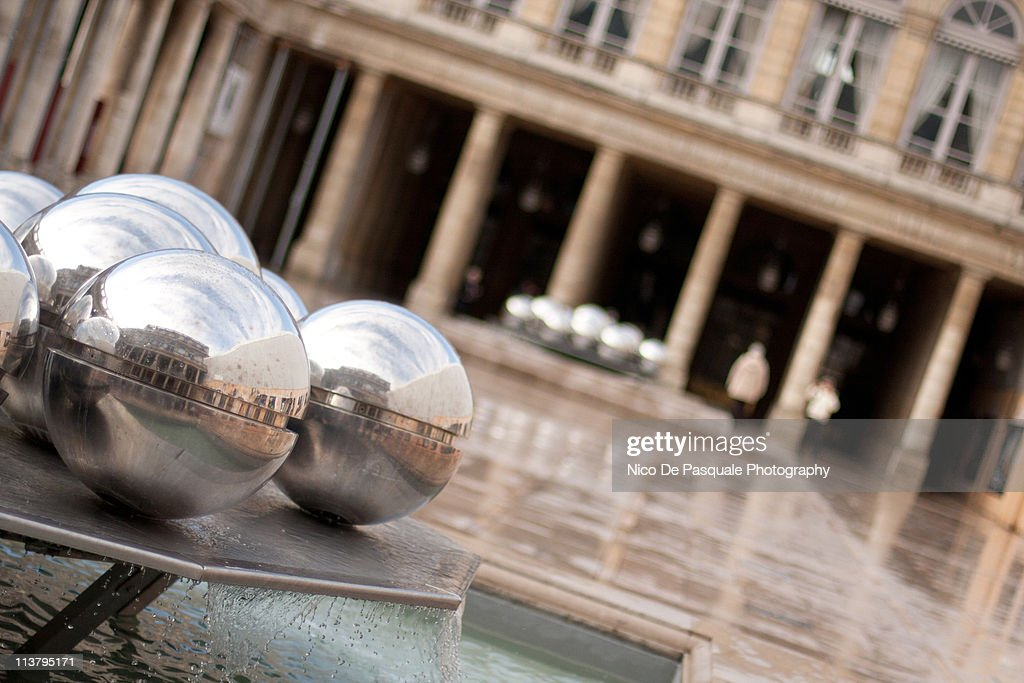 Reflections in the Palais Royal Fountain