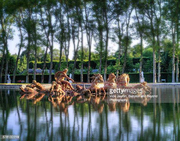 Reflections of Apollo's Chariot at Versailles
