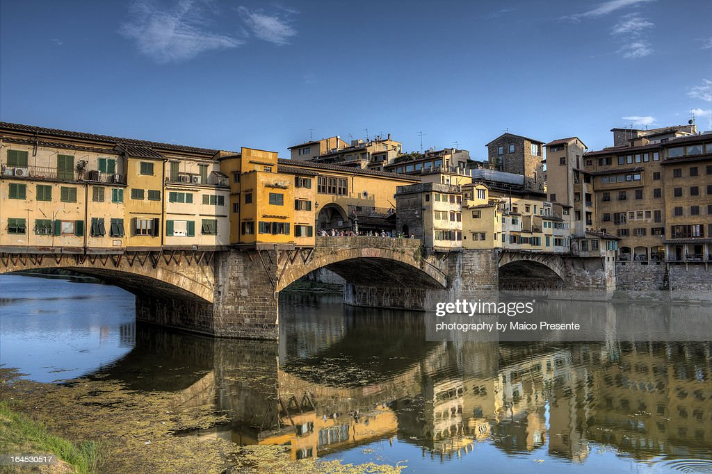 Reflections of Ponte Vecchio