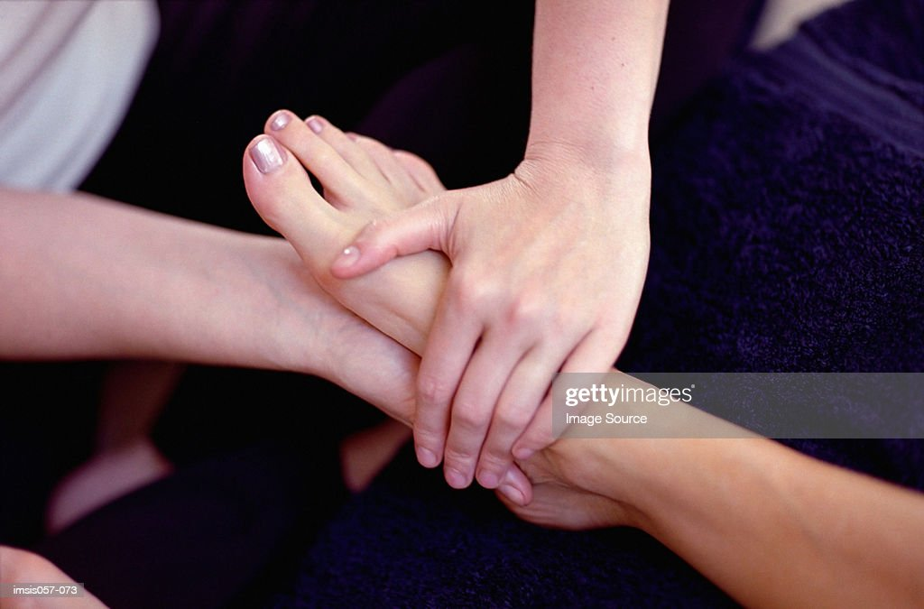 Reflexology : Stock Photo