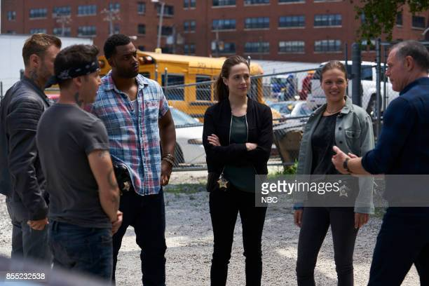 D 'Reform' Episode 501 Pictured Jon Seda as Antonio Dawson Patrick John Flueger as Adam Ruzek LaRoyce Hawkins as Kevin Atwater Marina Squerciati as...
