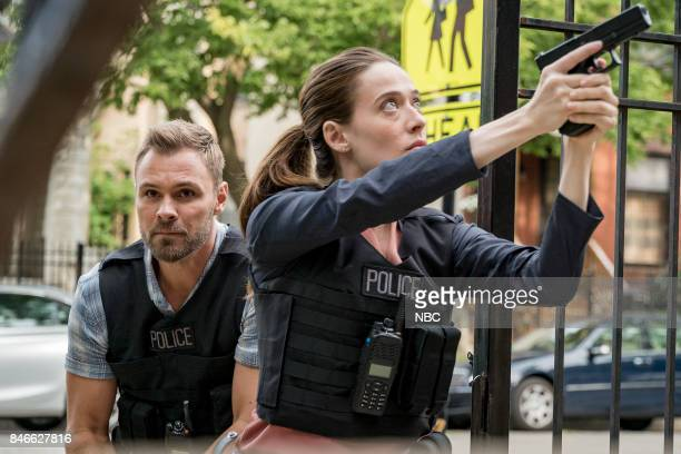 D 'Reform' Episode 501 Pictured Patrick Flueger as Adam Ruzek Marina Squerciati as Kim Burgess