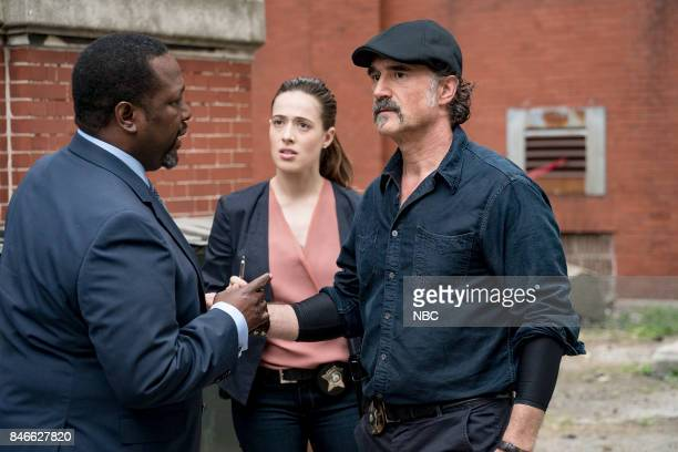 D 'Reform' Episode 501 Pictured Wendell Pierce as Alderman Ray Price Marina Squerciati as Kim Burgess Elias Koteas as Alvin Olinksy