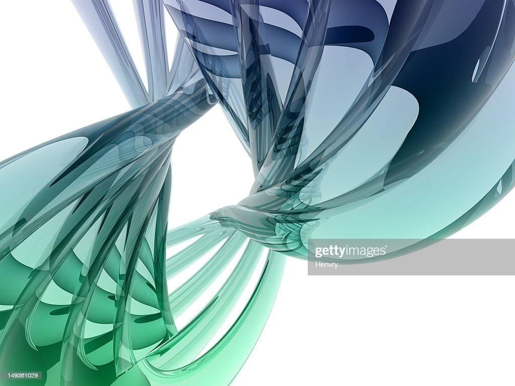 refractive curve shape : Stock Photo