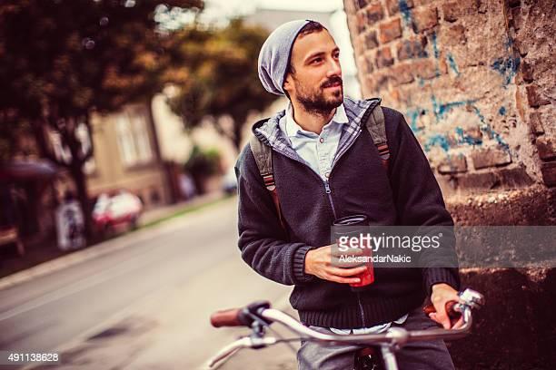 Refreshing autumn ride