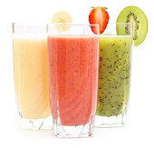 """Refreshing juices from kiwi, banana and strawberryMy other similar images:"""
