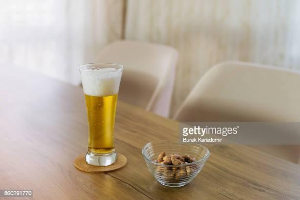 Refreshing Summer Pint of Beer