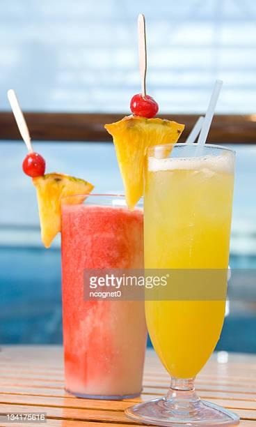 Refreshing Tropical Drinks