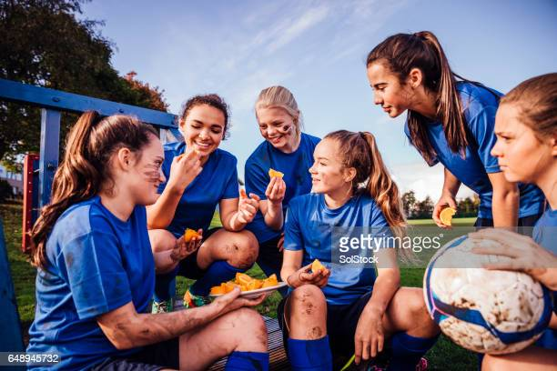 Refreshments for the Female Football Team