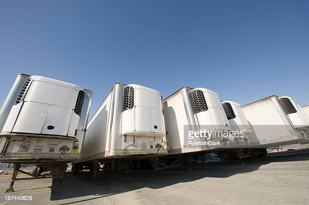 Refrigeration Trailers, Yellowknife, Northwest Territories, Canada