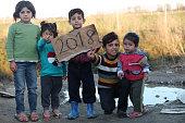 camp refugee, 2018, playing kids, syria, syrian kids