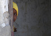 A refugee child in Dadaab Refugee Camp is seen on the photo in Nairobi Kenya on 4 October 2014