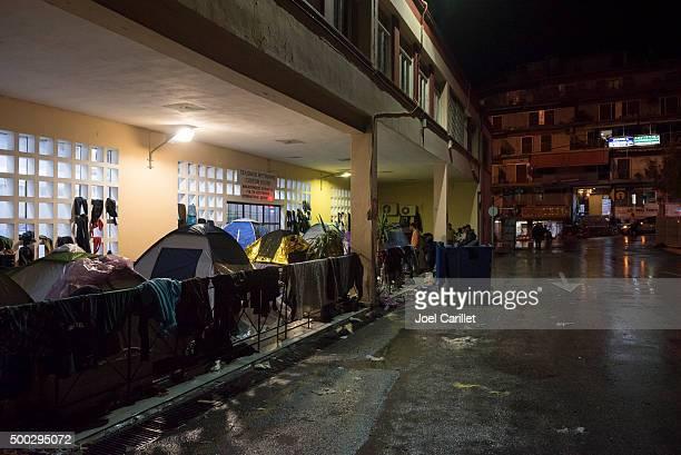 Refugee crisis in Mytilene, Lesbos, Greece