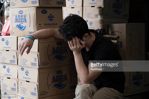 A refugee from Afghanistan waiting for his interview process near the UNHCR office in Jakarta on March 30 2016 Indonesia is not a party to the 1951...