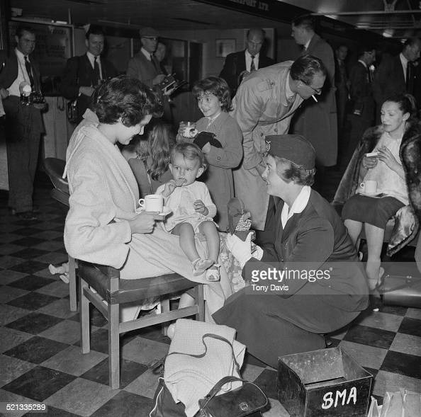 Refugees from Iraq arrive in London after escaping from the Iraqi 14 July Revolution 24th July 1958