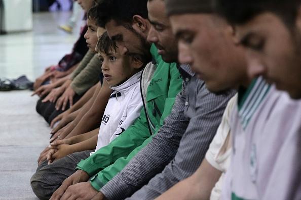 Ramadan in Piraeus Refugee Camp