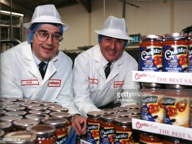 Reg Bolton and Peter Woodall of the Manchesterbased company Canadian Pizza which today announced the acquisition of North Wales's Meridian Foods a...