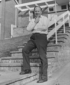Reg Prentice former Minister of Overseas Development pictured outside his home after being appointed as the new Minister of State at the enlarged...