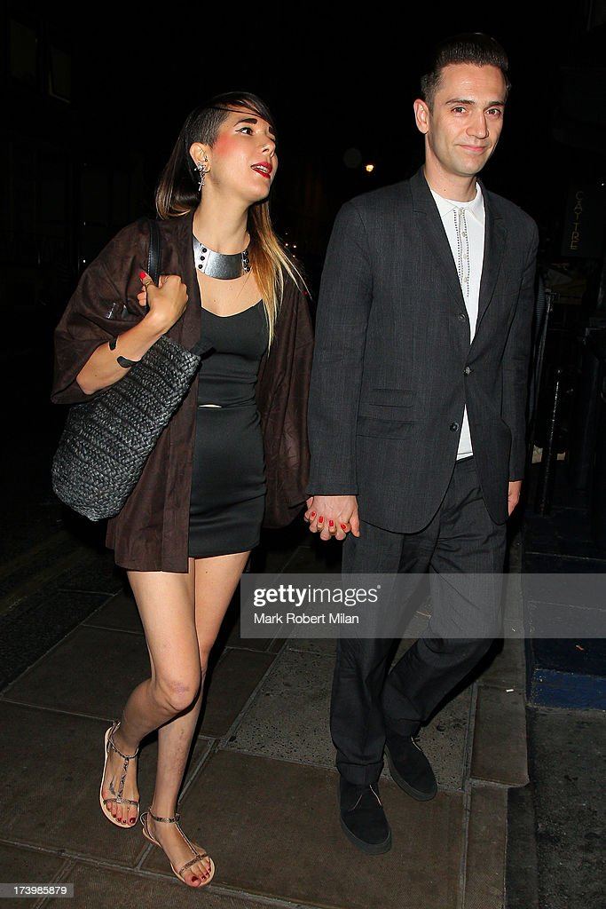 Reg Traviss at the Groucho club on July 18, 2013 in London, England.