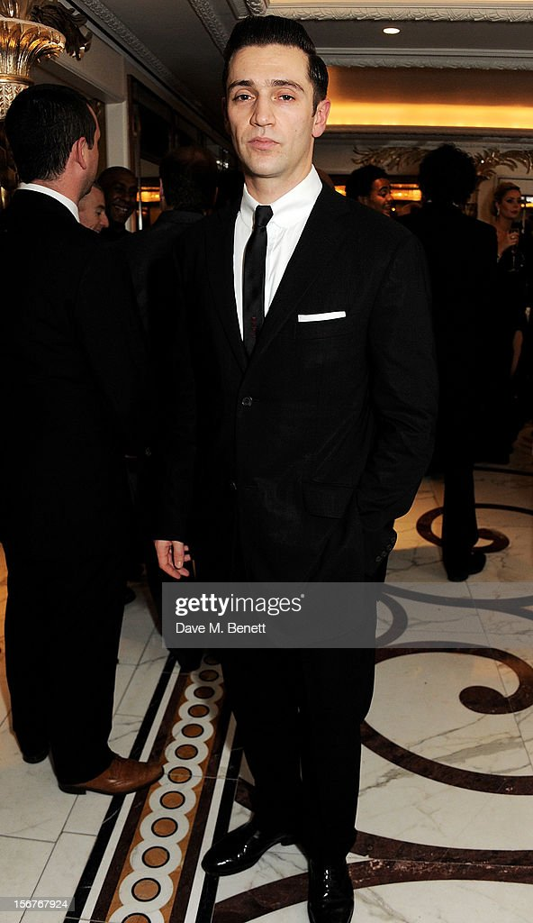 Reg Traviss attends a drinks reception at the Amy Winehouse Foundation Ball held at The Dorchester on November 20, 2012 in London, England.