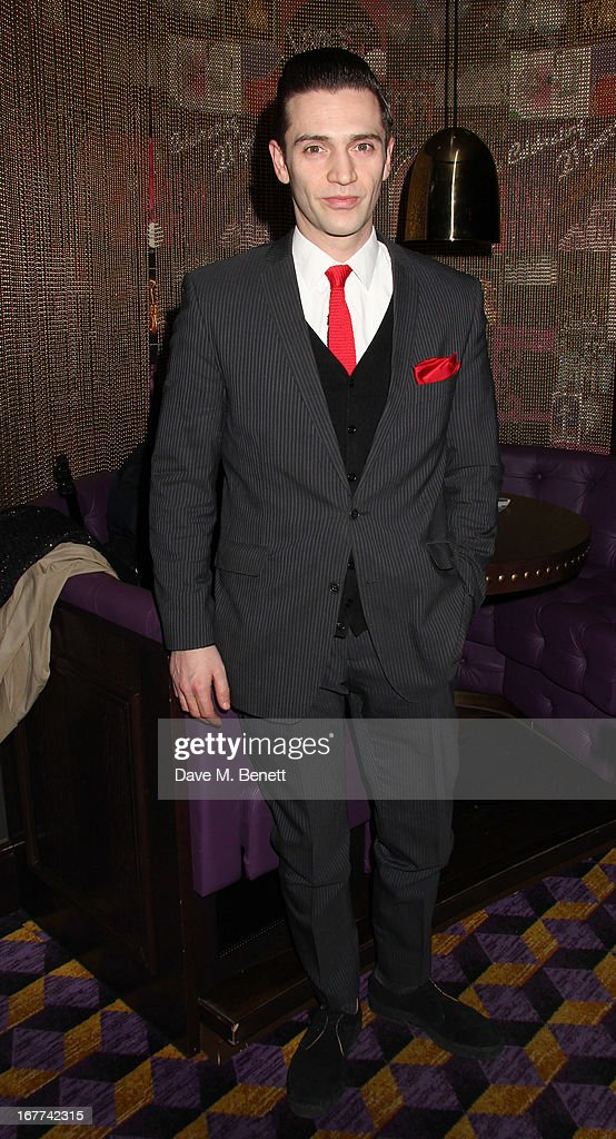 Reg Traviss attends an evening in aid of the 'Amy Winehouse Foundation' hosted by Mitch Winehouse, at the hippodrome, on April 28, 2013 in London, England.