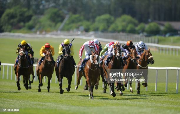 Regal Power ridden by Declan McDonogh goes on to win the The TRM Excellence In Equine Nutrition Handicap during the TRM Race Day at Curragh...