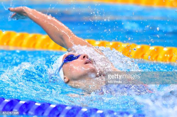 Regan Smith during the Budapest 2017 FINA World Championships on July 28 2017 in Budapest Hungary