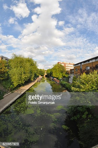 Regent Canal view in London