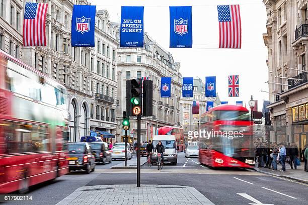 Regent Street Scene, London, England