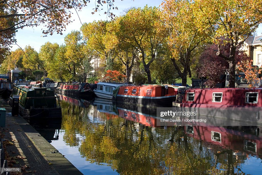 Regent's Canal at Little Venice, London, England, United Kingdom, Europe