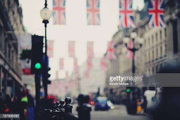 Regent's street during the Jubilee