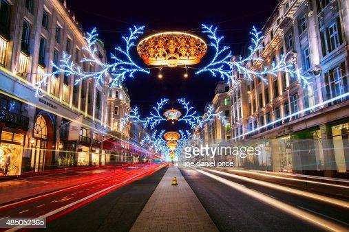 Regents Street, London, England