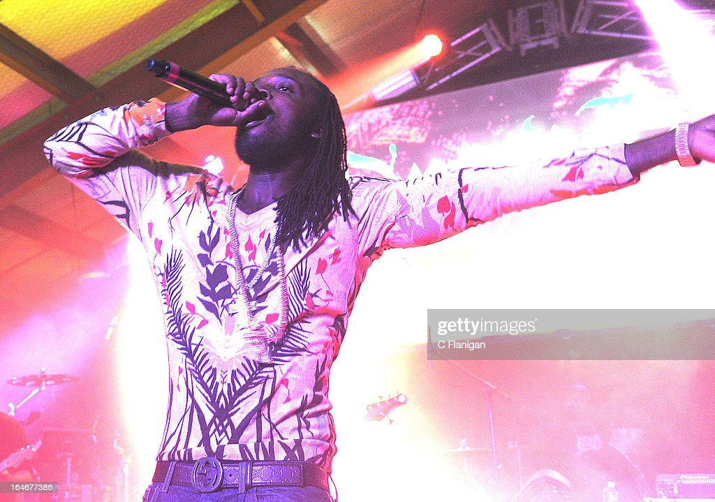 Reggae artist Mavado performs during LionFest and the 2013 SXSW Music Festival at Viceland on March 14, 2013 in Austin, Texas.
