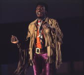 Reggae singer Jimmy Cliff performs on stage c 1969 in Germany Picture by Gunter Zint