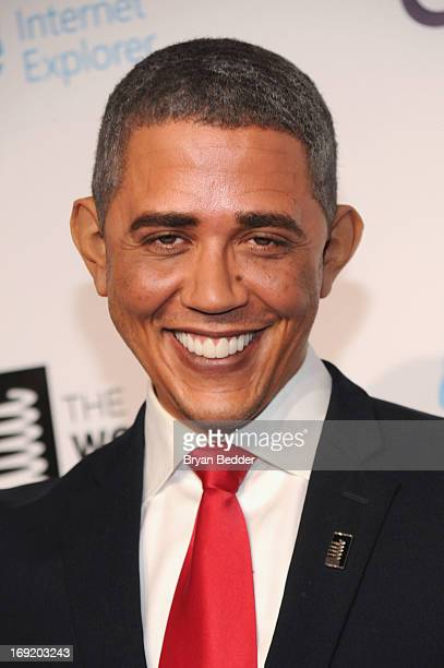 Reggie Brown Obama impersonator attends the 17th Annual Webby Awards at Cipriani Wall Street on May 21 2013 in New York City