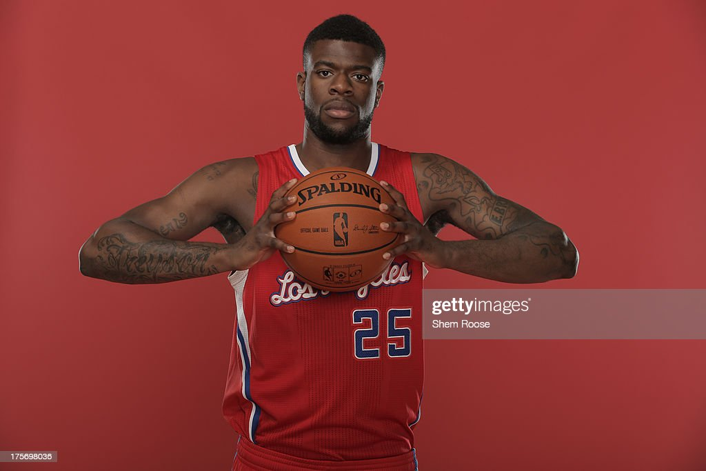 Reggie Bullock #25 of the Los Angeles Clippers poses for a portrait during the 2013 NBA rookie photo shoot on August 6, 2013 at the Madison Square Garden Training Facility in Tarrytown, New York.
