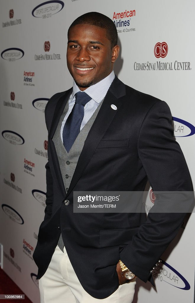 Reggie Bush arrives at the 25th Anniversary Of Cedars-Sinai Sports Spectacular held at the Hyatt Regency Century Plaza Hotel on May 23, 2010 in Los Angeles, California.