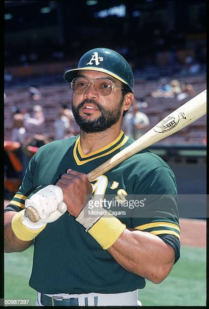 Reggie Jackson of the Oakland Athletics poses for a portrait in 1987