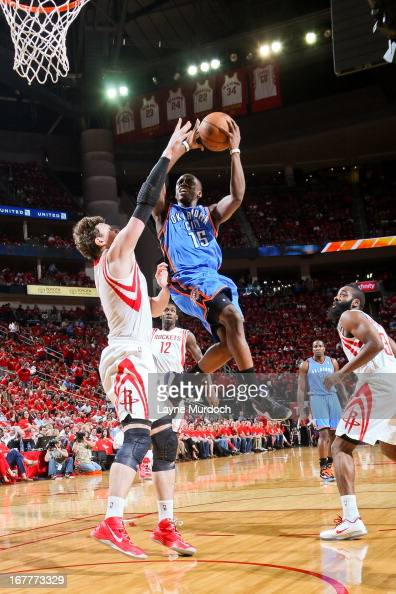 Oklahoma City Thunder v Houston Rockets - Game Four Photos ...