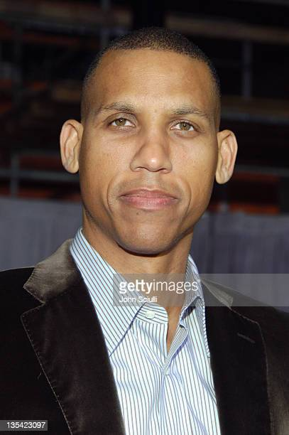 Reggie Miller during 'Glory Road' World Premiere Red Carpet at The Pantages Theater in Los Angeles California United States