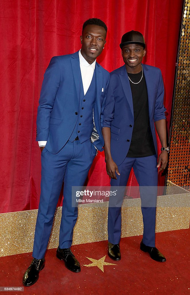 Reggie n Bollie attend the British Soap Awards 2016 at Hackney Empire on May 28, 2016 in London, England.