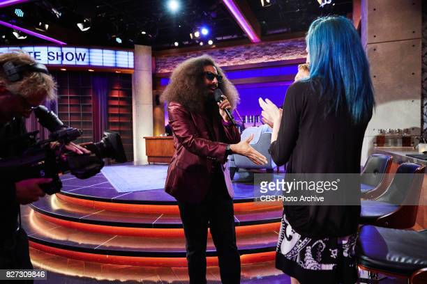 Reggie Watts performs during 'The Late Late Show with James Corden' Tuesday July 25 2017 On The CBS Television Network