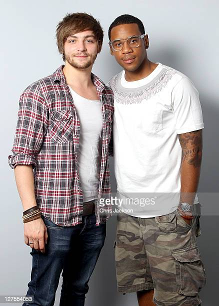 Reggie Yates and young campaigner Danny Bartlett launch the 'Hands Up Who's Bored' campaign on September 29 2011 in London England 'Hands up Who's...