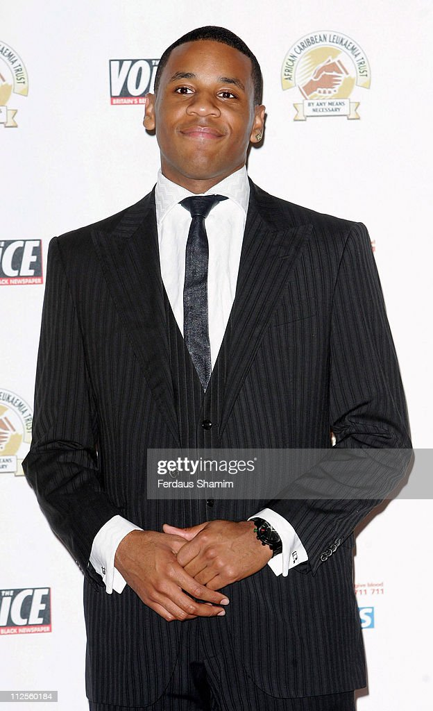 Reggie Yates arrives for the ACLT's Gift Of Life VIII Fundraising Ball at the Hotel InterContinental on September 22, 2007 in London, England.