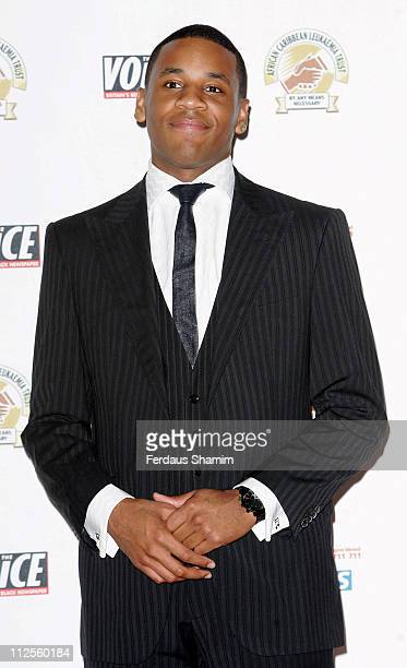 Reggie Yates arrives for the ACLT's Gift Of Life VIII Fundraising Ball at the Hotel InterContinental on September 22 2007 in London England